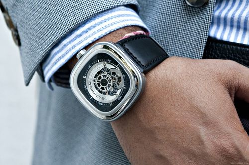Часы на правой руке