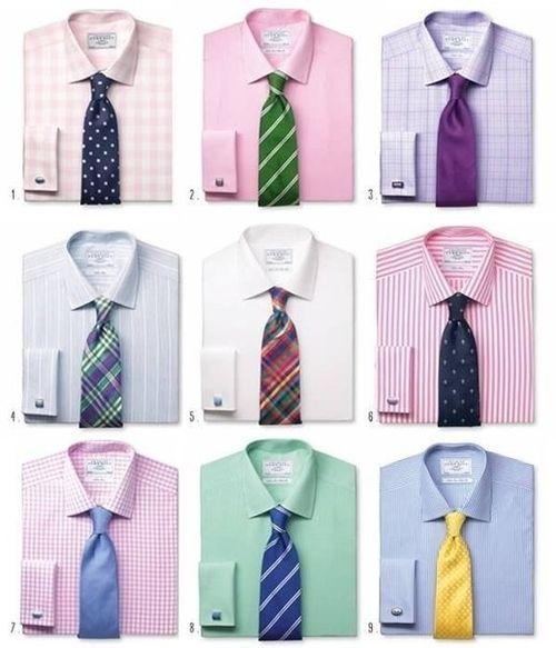 Выбор галстука по цвету