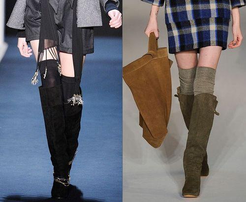 Как одеть гетры